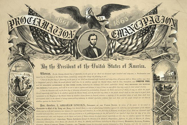 Damn, Lincoln looks good with a giant eagle holding a banner and soaring over him.