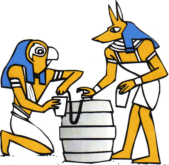 """Beer was part of the daily diet of Egyptian Pharaohs over 5,000 years ago."" - Wikipedia, the omniscient"