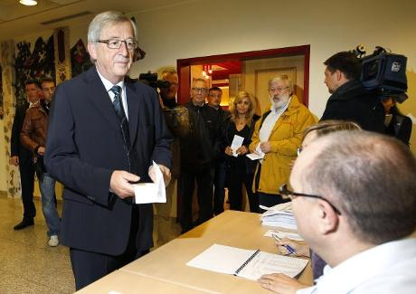 Jean-Claude Juncker is shown. | Serge Waldbillig